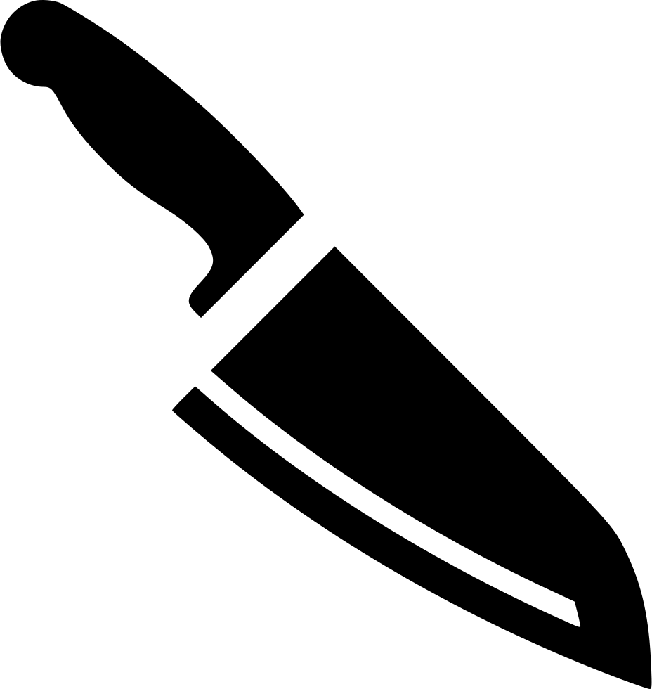 Butcher Knife Svg Png Icon Free Download (#478440 ...