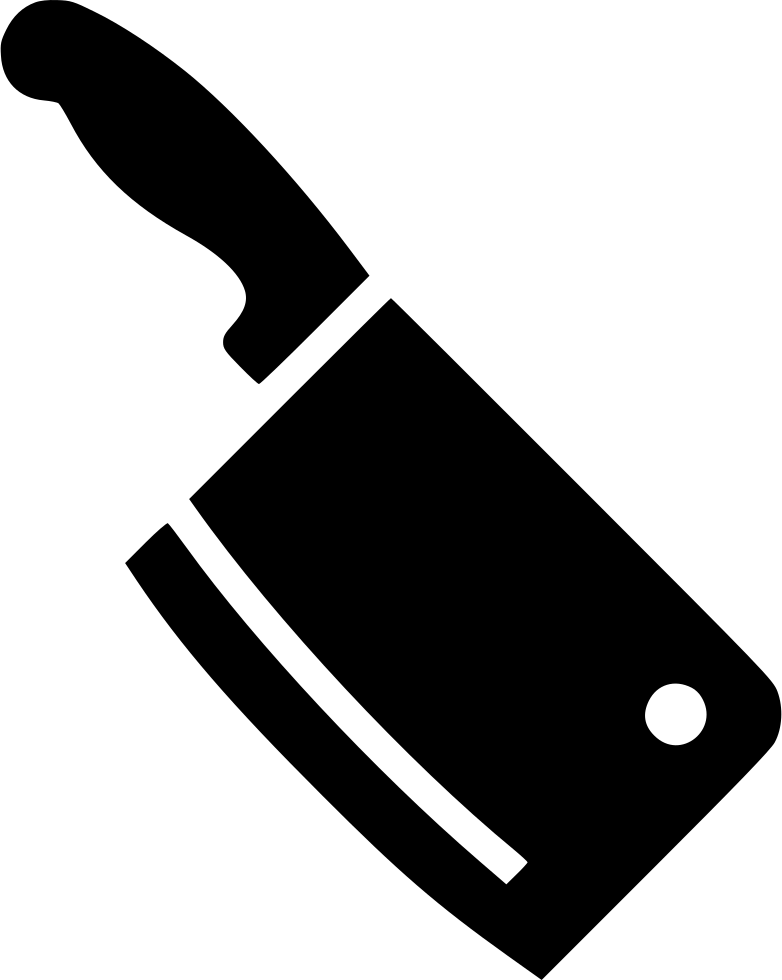 Meat Cleaver Svg Png Icon Free Download 478460