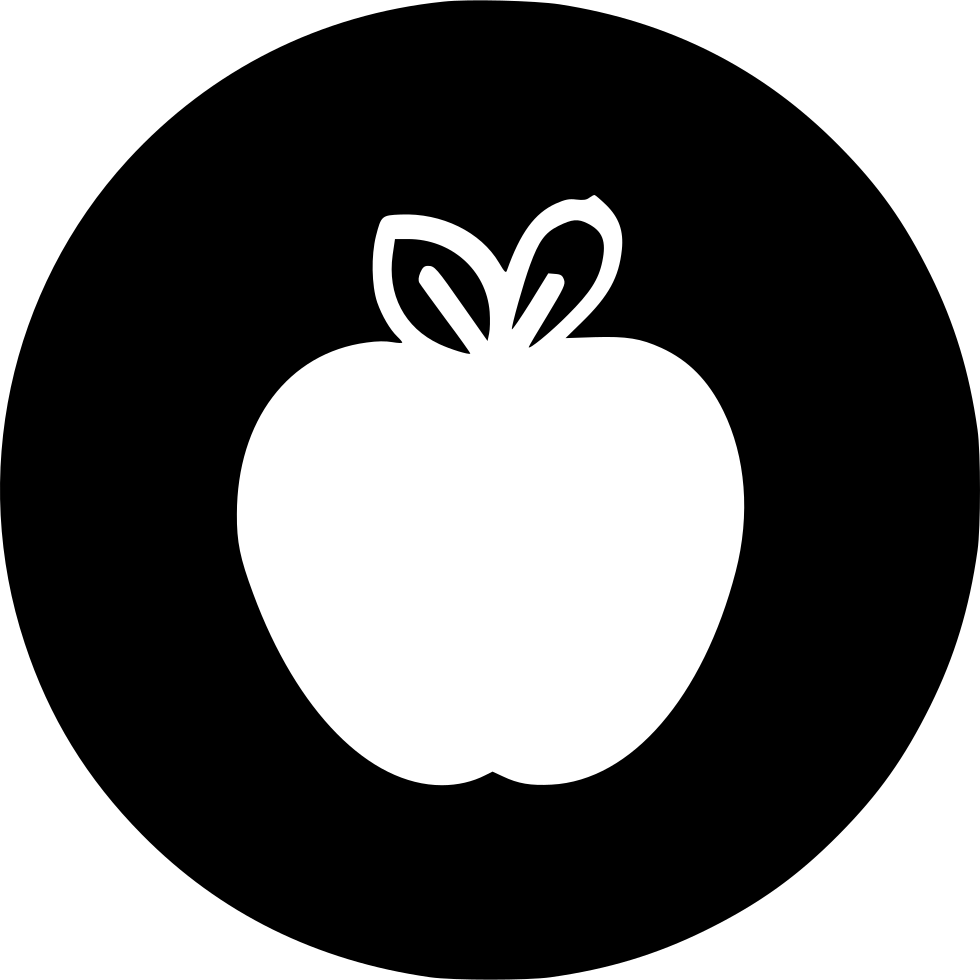Kitchen Fruit Apple Healthy Sweet Juicy Svg Png Icon Free Download ...
