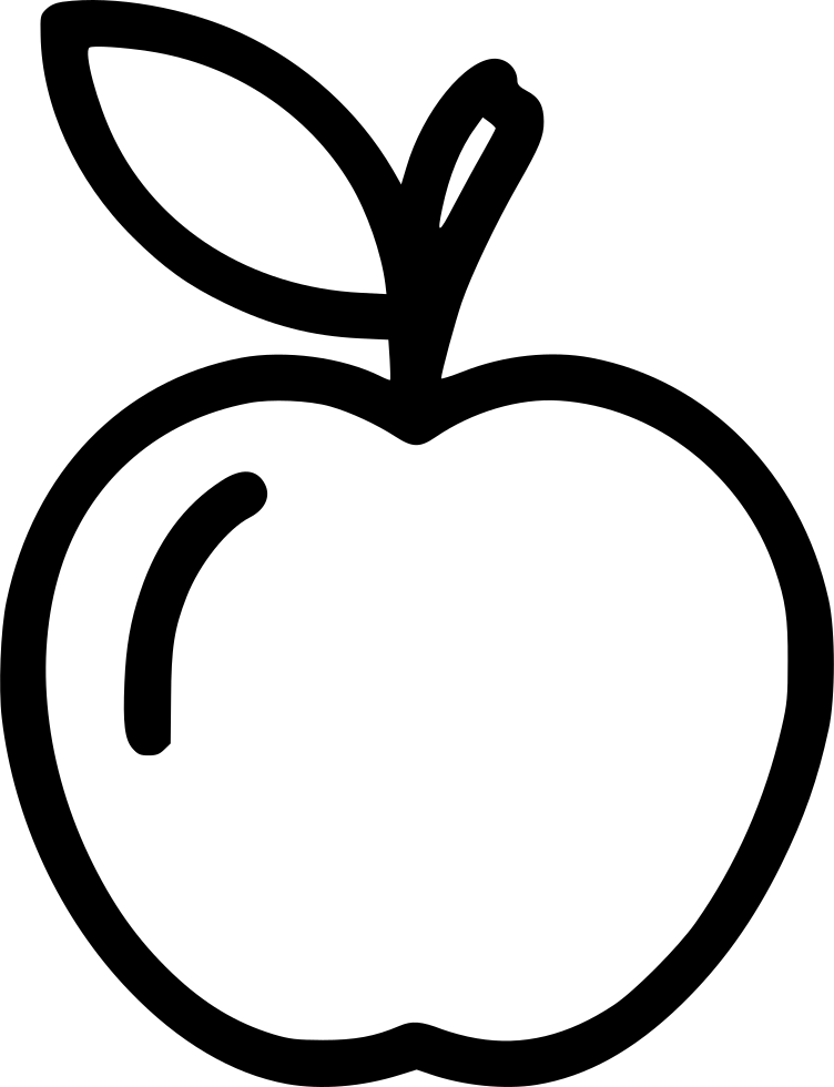 Apple Fruit Svg Png Icon Free Download (#483227) - OnlineWebFonts COM