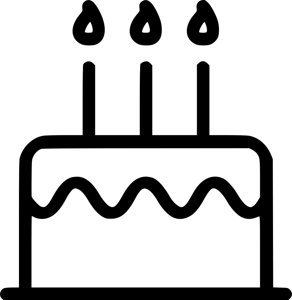 Cake Birthday Anniversary Svg Png Icon Free Download