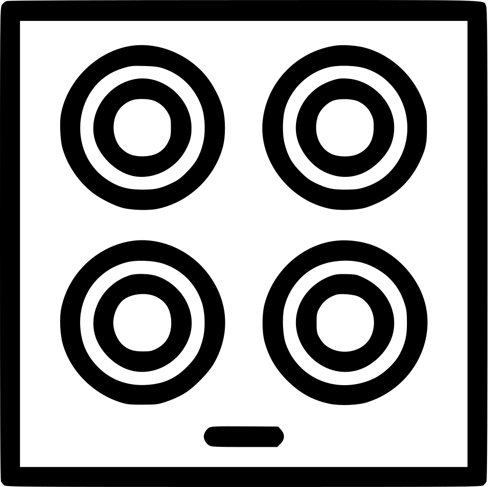 Cooking Hob Kitchen Appliances Svg Png Icon Free Download 483245