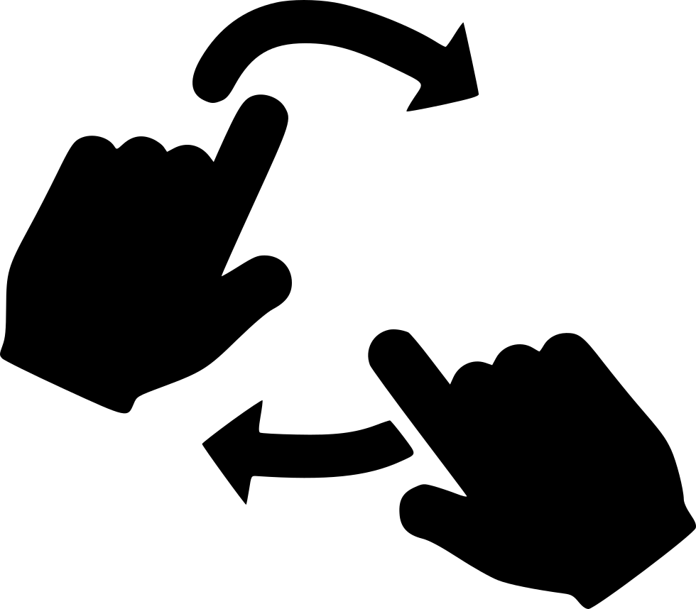 Rotate With Two Hands Svg Png Icon Free Download 484809