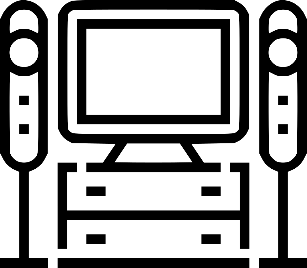 Home Theater System Svg Png Icon Free Download 485554 Onlinewebfonts Com
