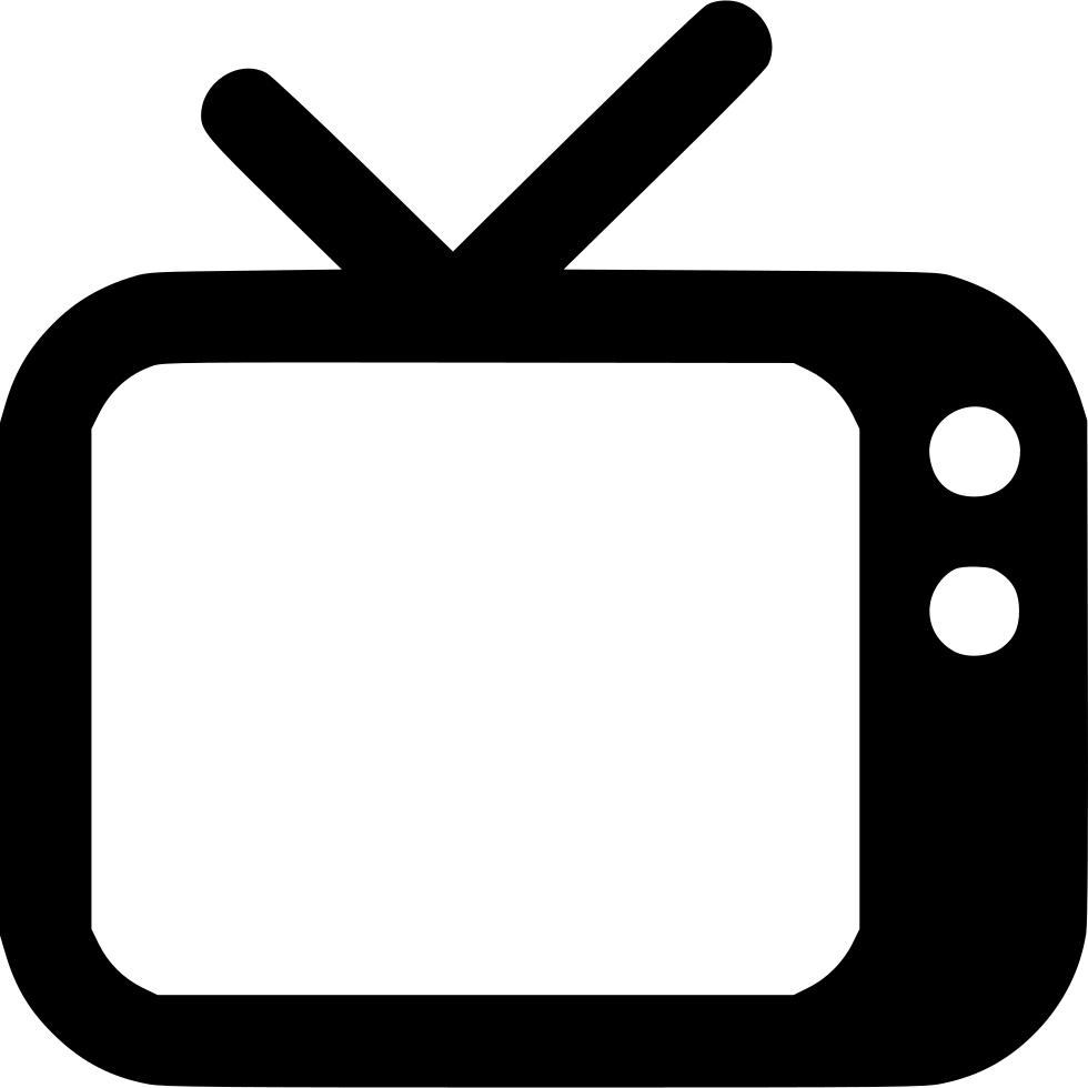 Tv Svg Png Icon Free Download (#486590) - OnlineWebFonts.COM