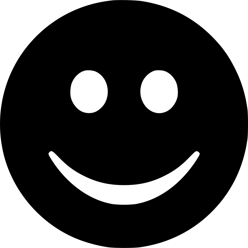 Smile Face Happy Emoticon Svg Png Icon Free Download