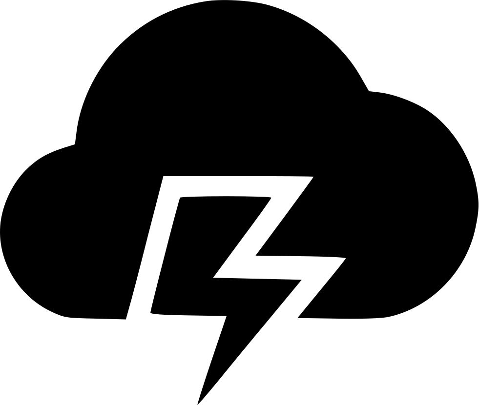Weather Thunder Svg Png Icon Free Download 490125