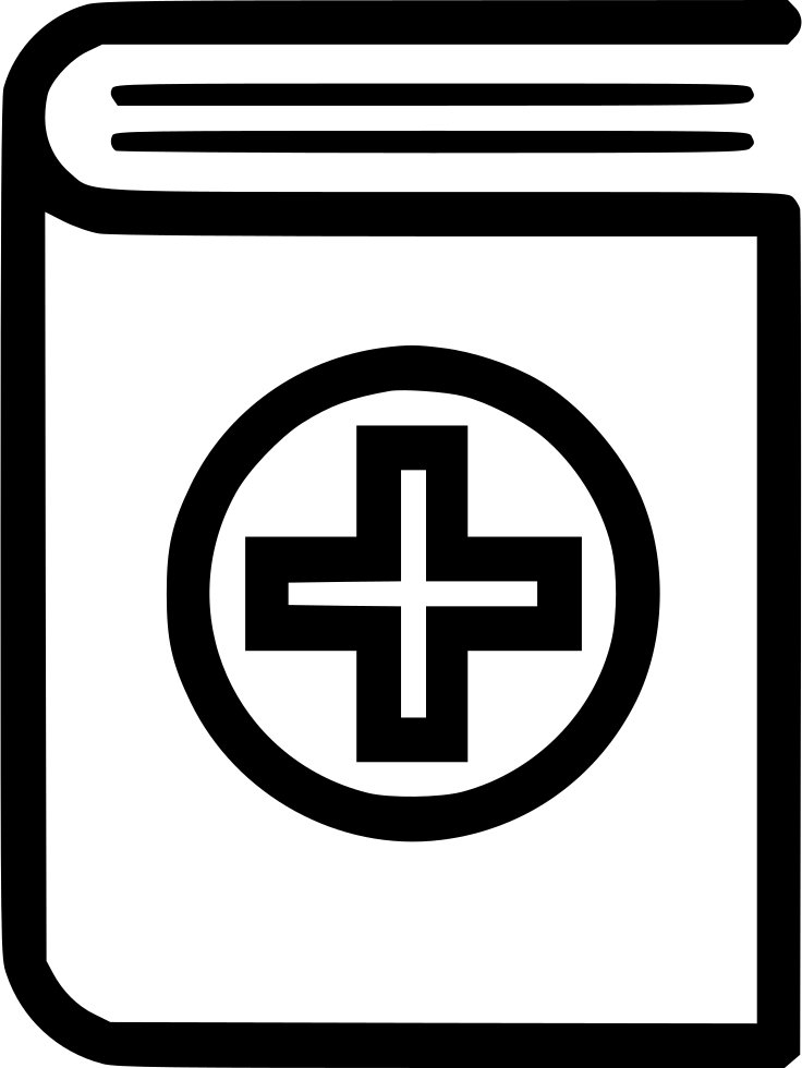 Medical Book Svg Png Icon Free Download 491309 Onlinewebfonts Com