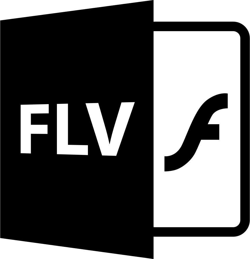 Flv Flash File Extension Interface Symbol Svg Png Icon Free Download
