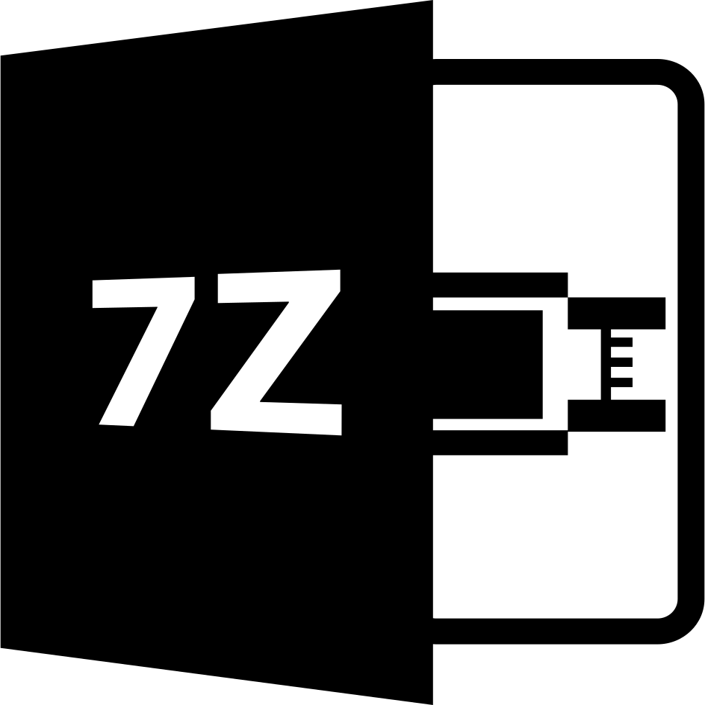 7Z File Format Symbol Svg Png Icon Free Download (#49221