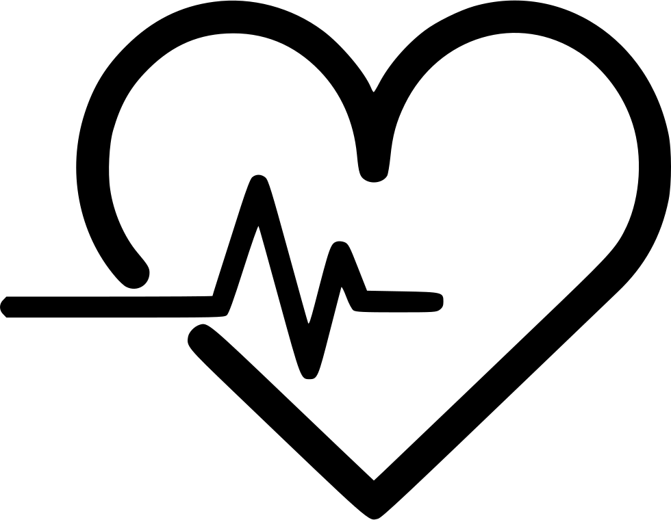 Heartbeat Png Transparent Black