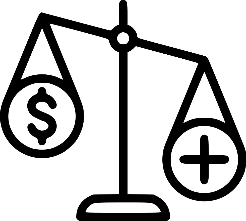 Balance Scales Health Care Money Important Svg Png Icon ...