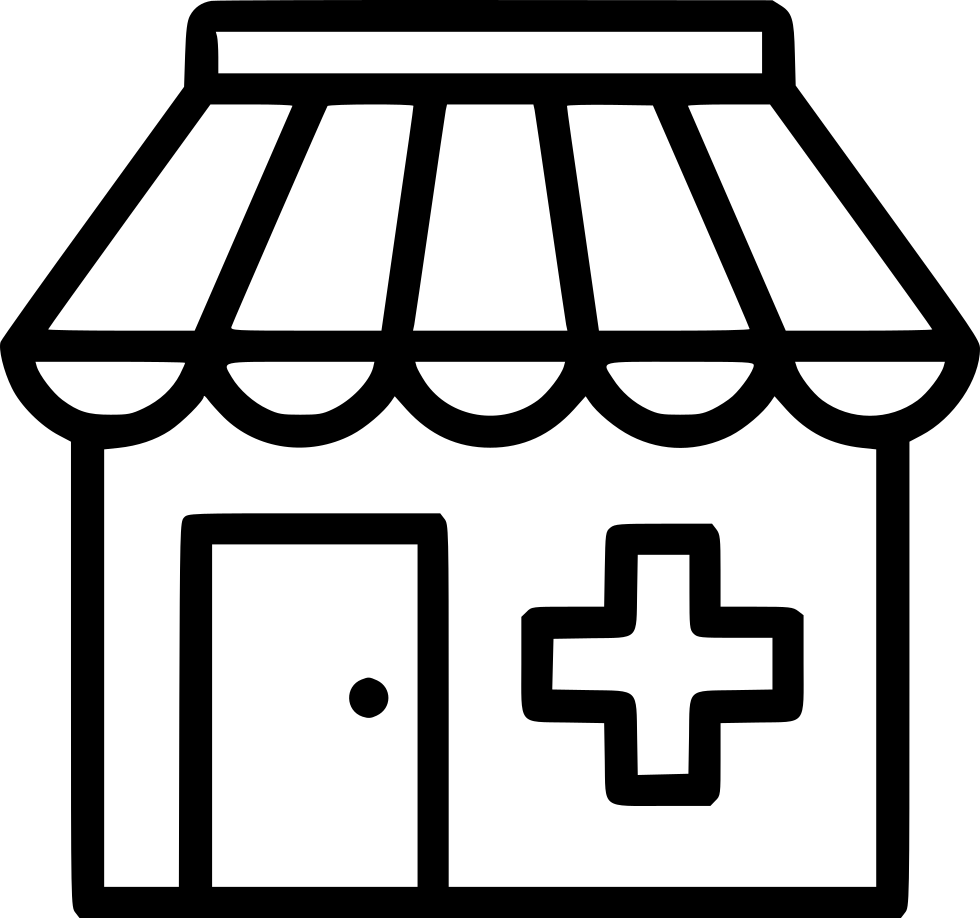 Pharmacy Clinic Hospital Drug Store Medical Svg Png Icon Free