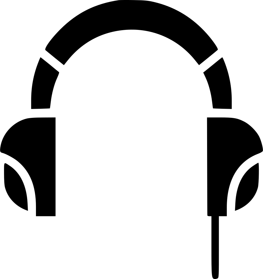 Headset Music Podcast Customer Support Svg Png Icon Free Download