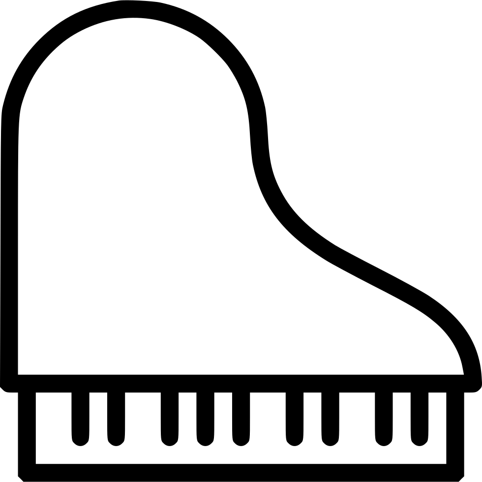 Grand Piano Svg Png Icon Free Download 495193 Onlinewebfonts Com