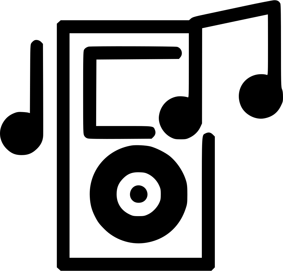 Ipod Music Svg Png Icon Free Download (#495343