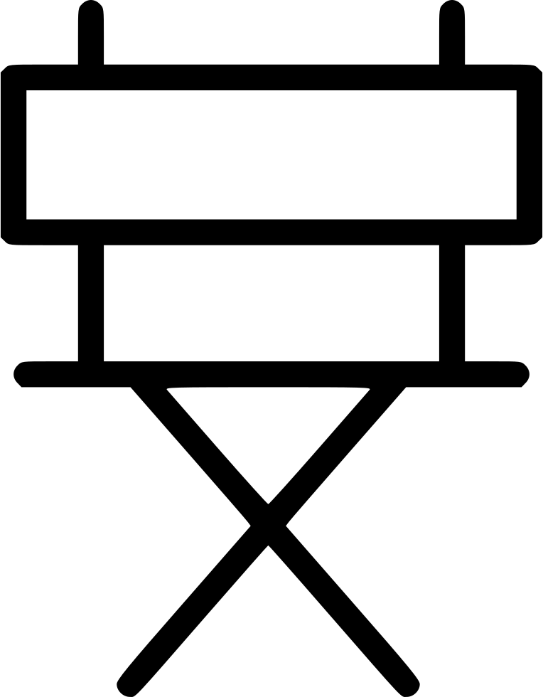 Directors Chair Svg Png Icon Free Download (#495587 ...