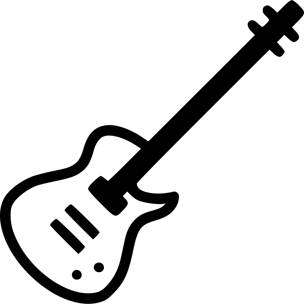 Electric Guitar Instrument Svg Png Icon Free Download 496614