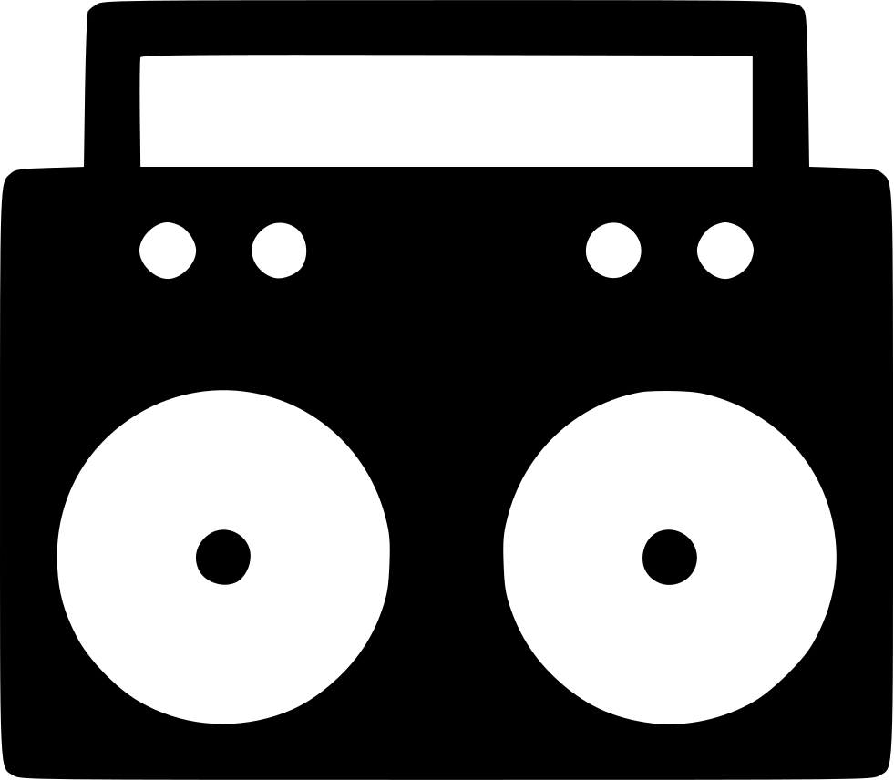 Radio Player Cassette Sound Audio Svg Png Icon Free Download