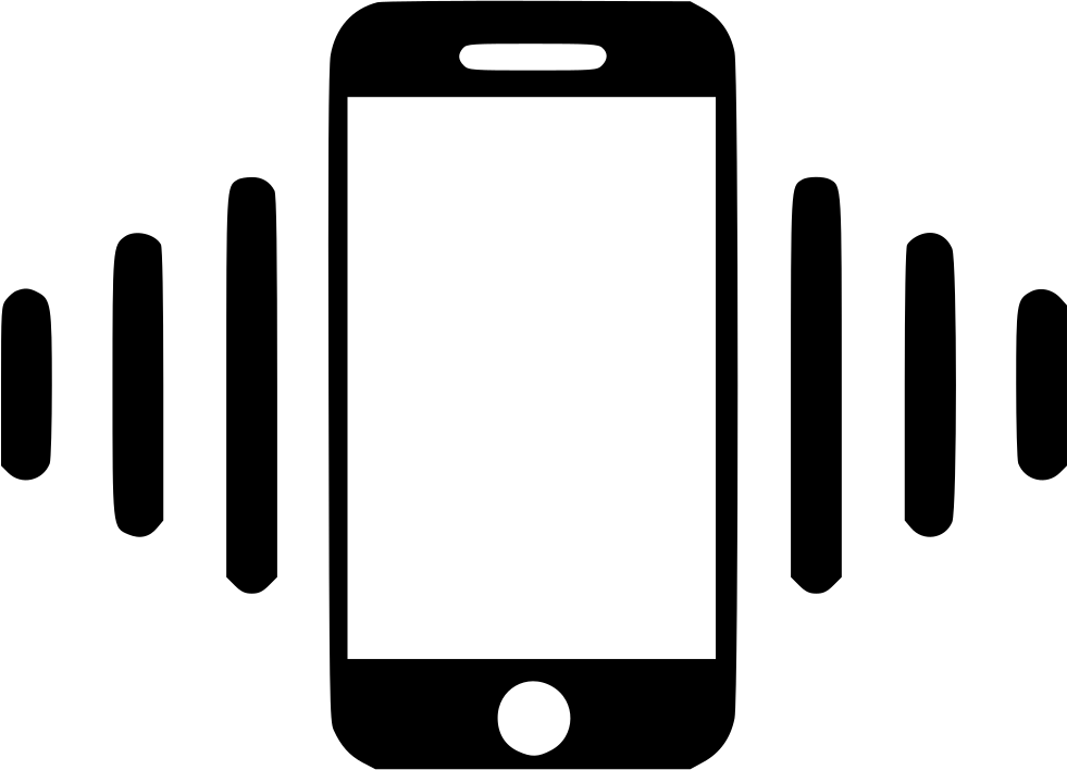 Mobile Phone Vibration Svg Png Icon Free Download (#497078 ...