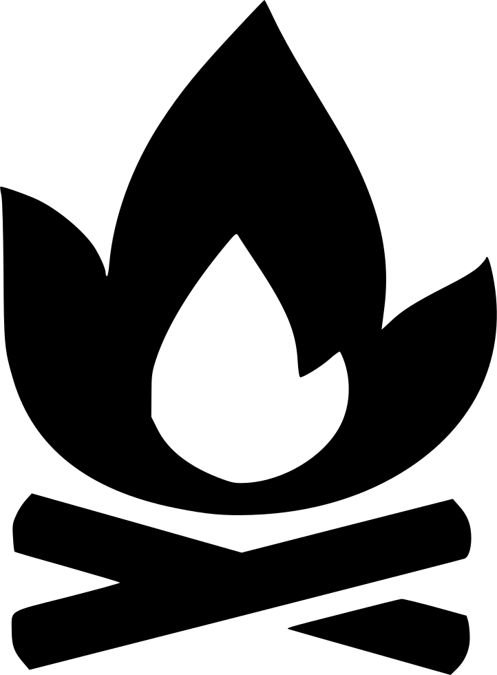 Camp Campfire Fire Hunting Forest Svg Png Icon Free