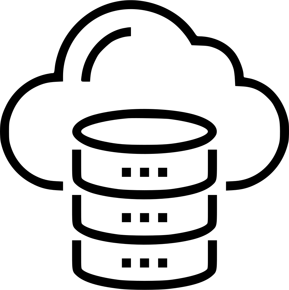 Cloud Database Svg Png Icon Free Download (#500190