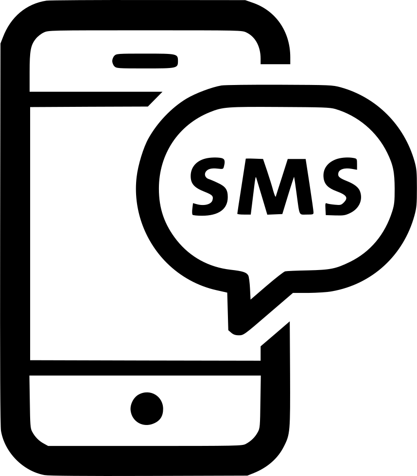 Sms Chat Text Message Phone Bubble Talk Svg Png Icon Free