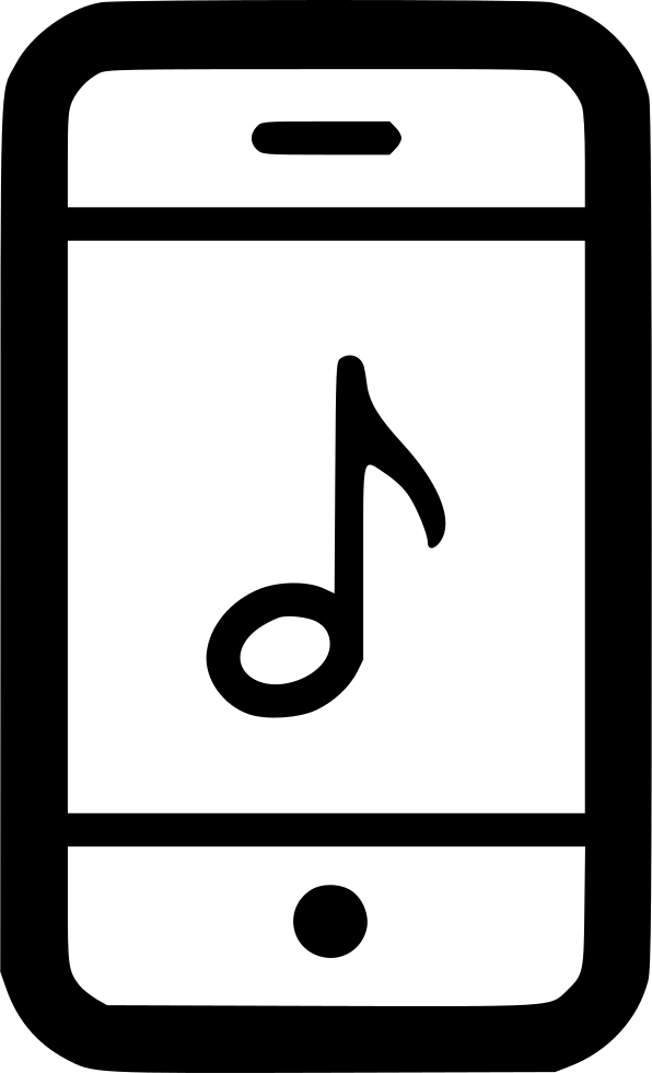 Sound Music Note Ring Phone Svg Png Icon Free Download