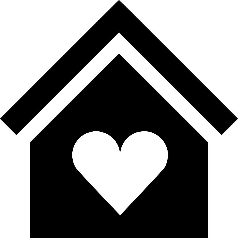 Home Heart Svg Png Icon Free Download (#503920 ...