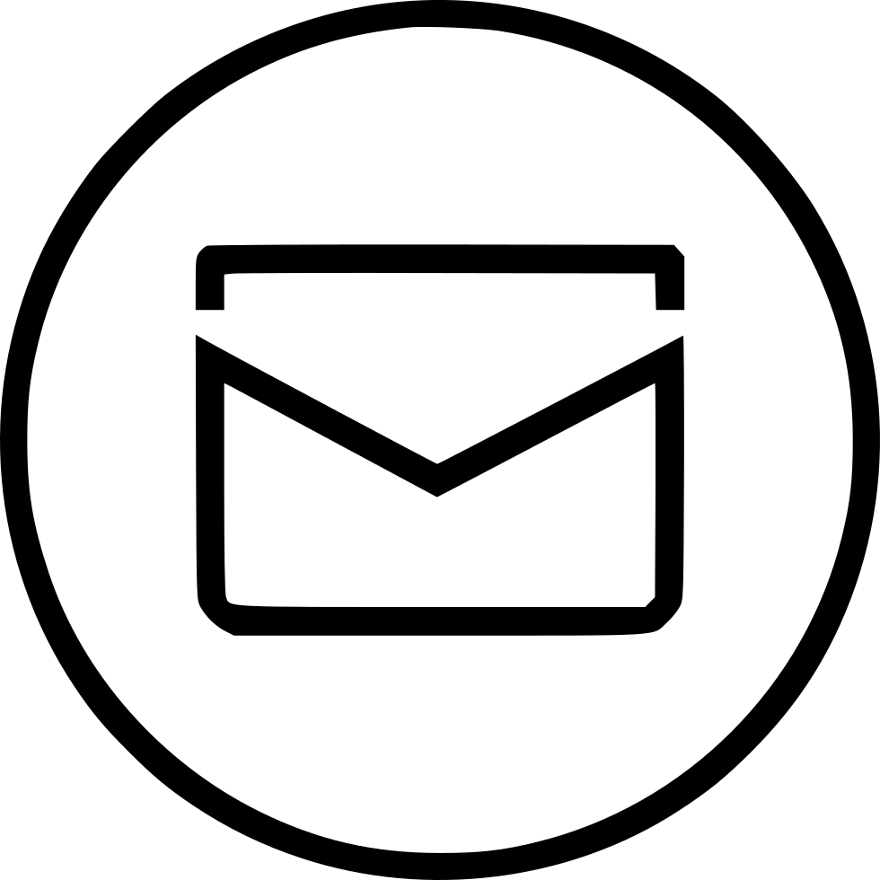 Mail Circle Svg Png Icon Free Download (#503976 ...