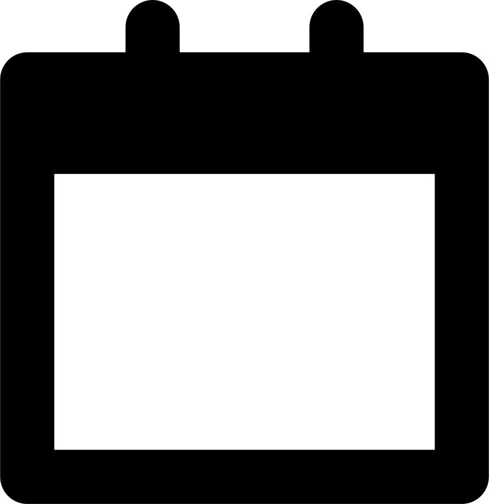 Calendar empty page symbol svg png icon free download 50432 calendar empty page symbol comments buycottarizona Gallery