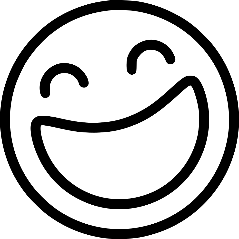 laughing svg png icon free download 505653 onlinewebfonts com