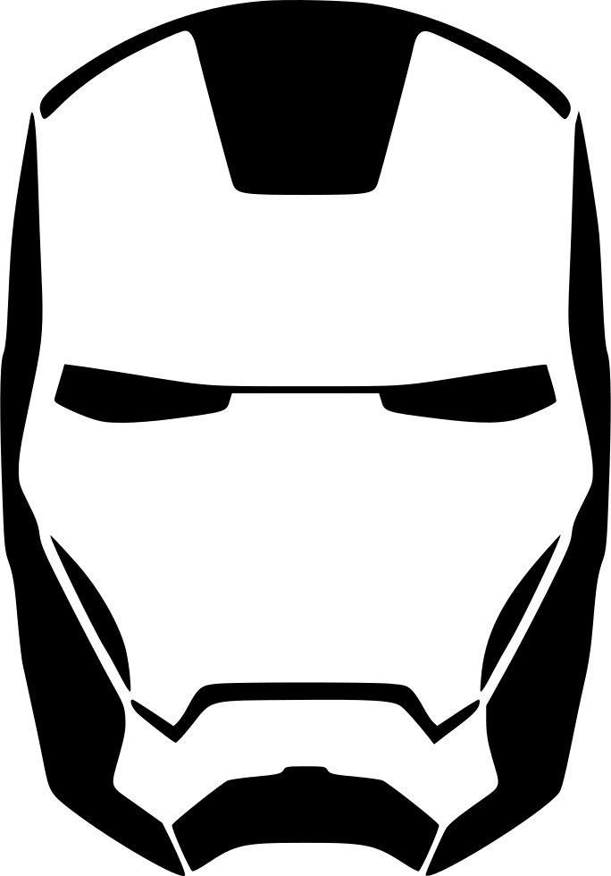 Iron Man Skin Face Svg Png Icon Free Download (#506608