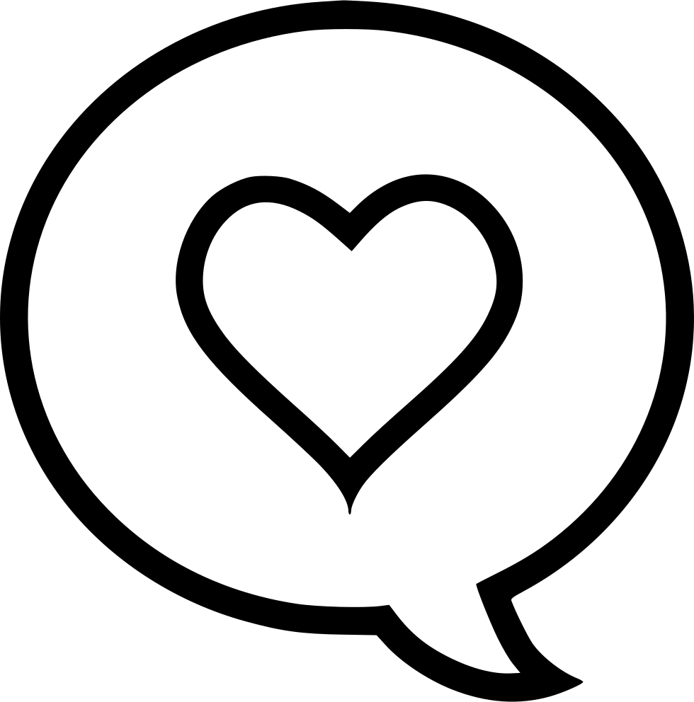 comment heart svg png icon free download 512065 onlinewebfonts com online web fonts