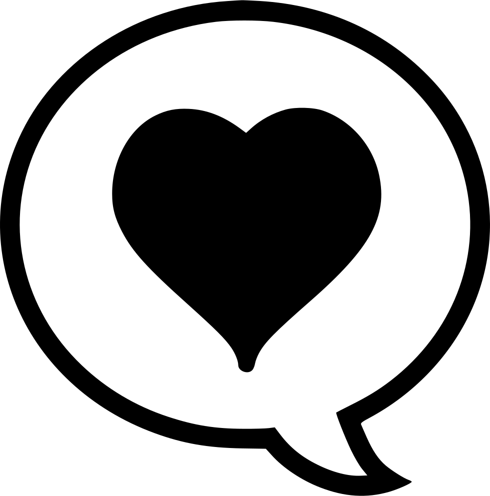 Comment Heart Svg Png Icon Free Download (#512066 ...