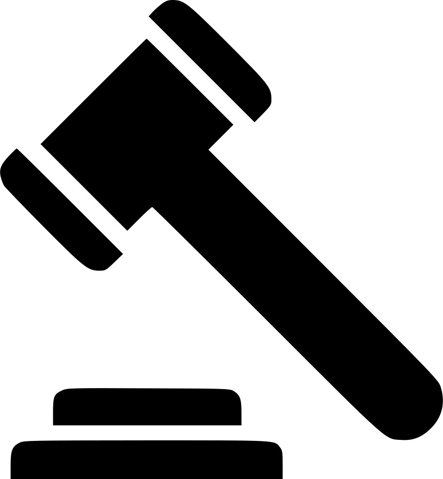 Law Gavel Svg Png Icon Free Download (#513573 ...