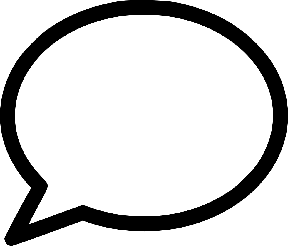 bubble chat svg png icon free download 514132
