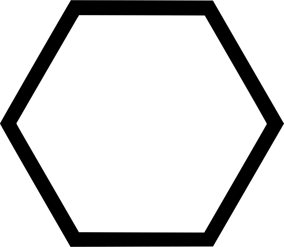 Shape Hexagon Svg Png Icon Free Download   516919