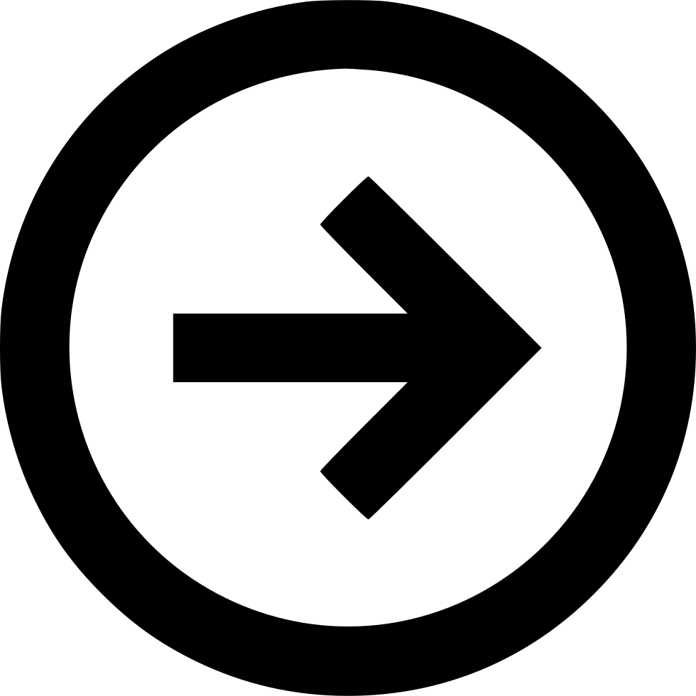 arrow right left back next forward circle svg png icon