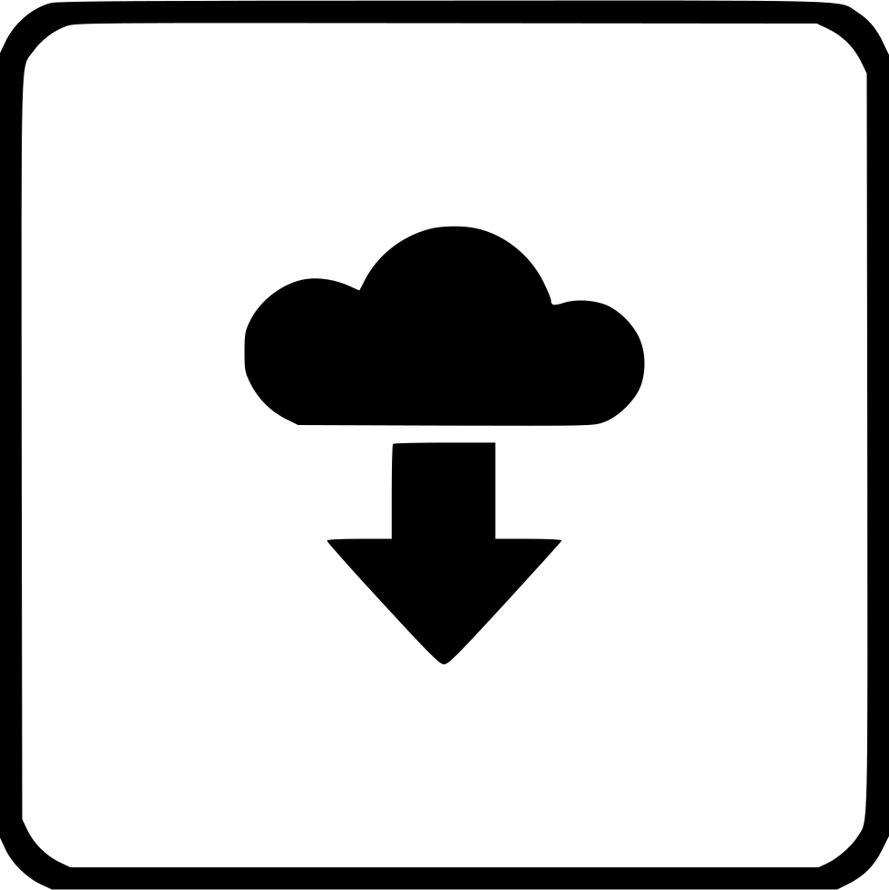 Download Cloud Storage Music Player Track Svg Png Icon Free
