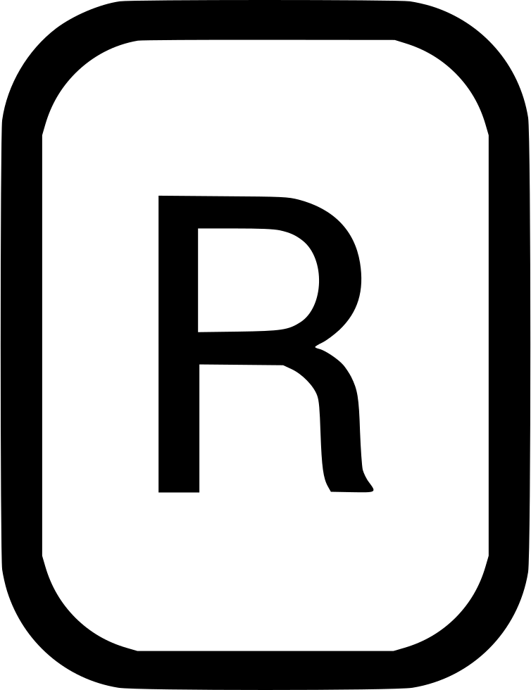 Uppercase Letter R Latin Alphabet Svg Png Icon Free Download