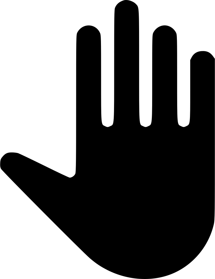 Open Hand Svg Png Icon Free Download 520156 Onlinewebfonts Com Use these free open hand png black and white #8570 for your personal. online web fonts
