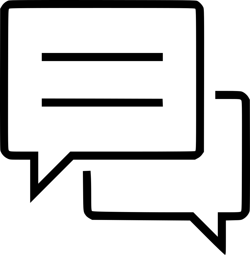 Chat Text Message Mobile Communication Svg Png Icon Free