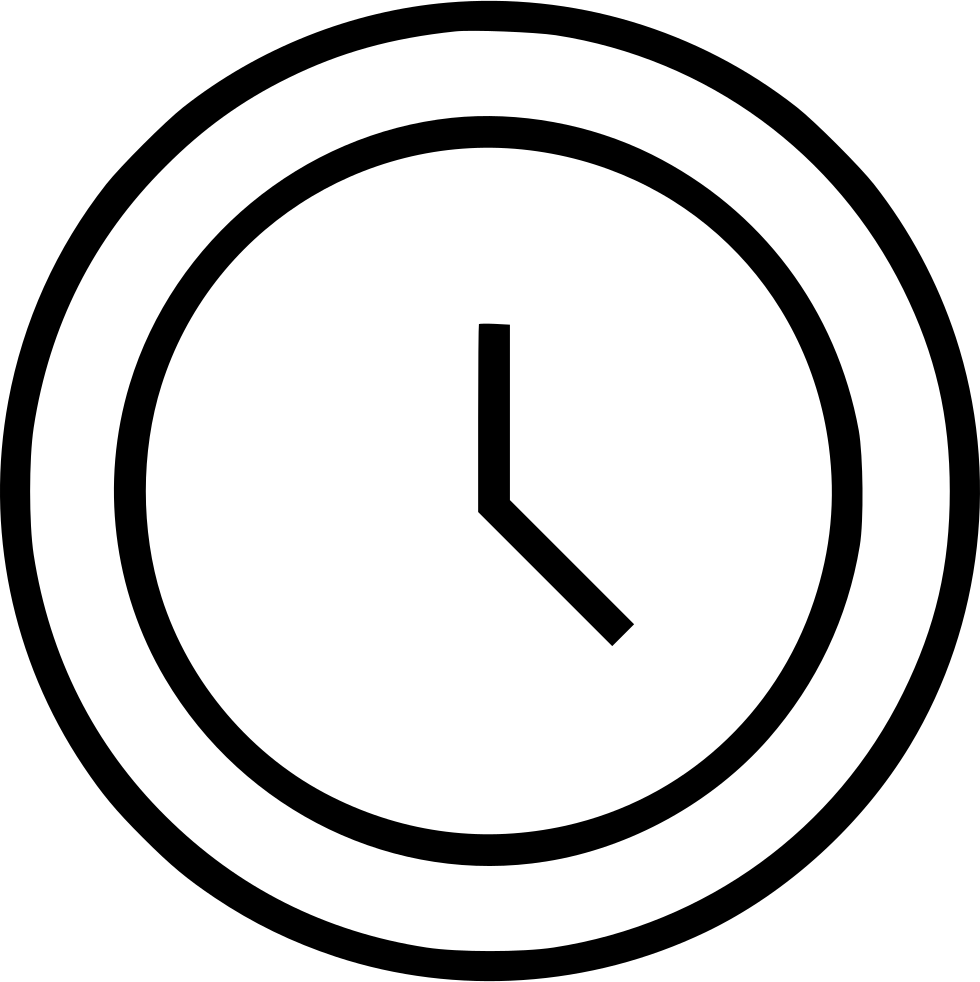 Clock Watch Time Timer Event Schedule Svg Png Icon Free