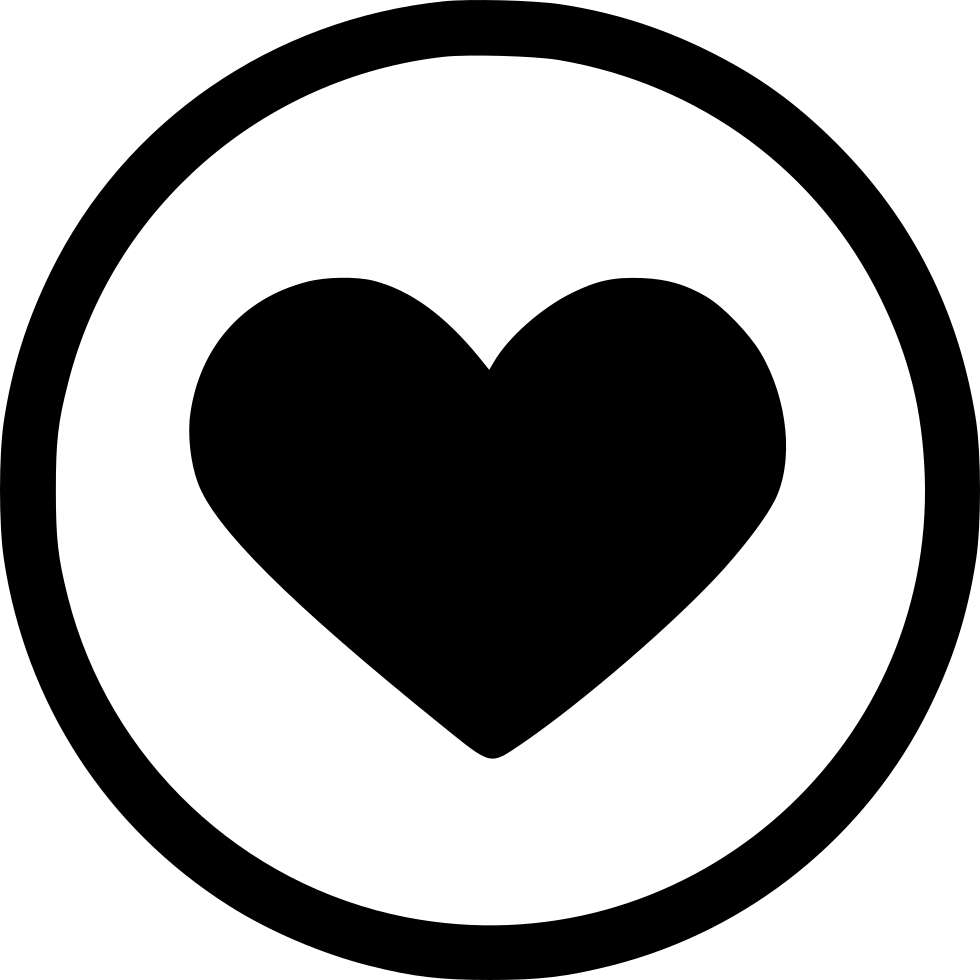 Like Love Romantic Heart Round Svg Png Icon Free Download ...