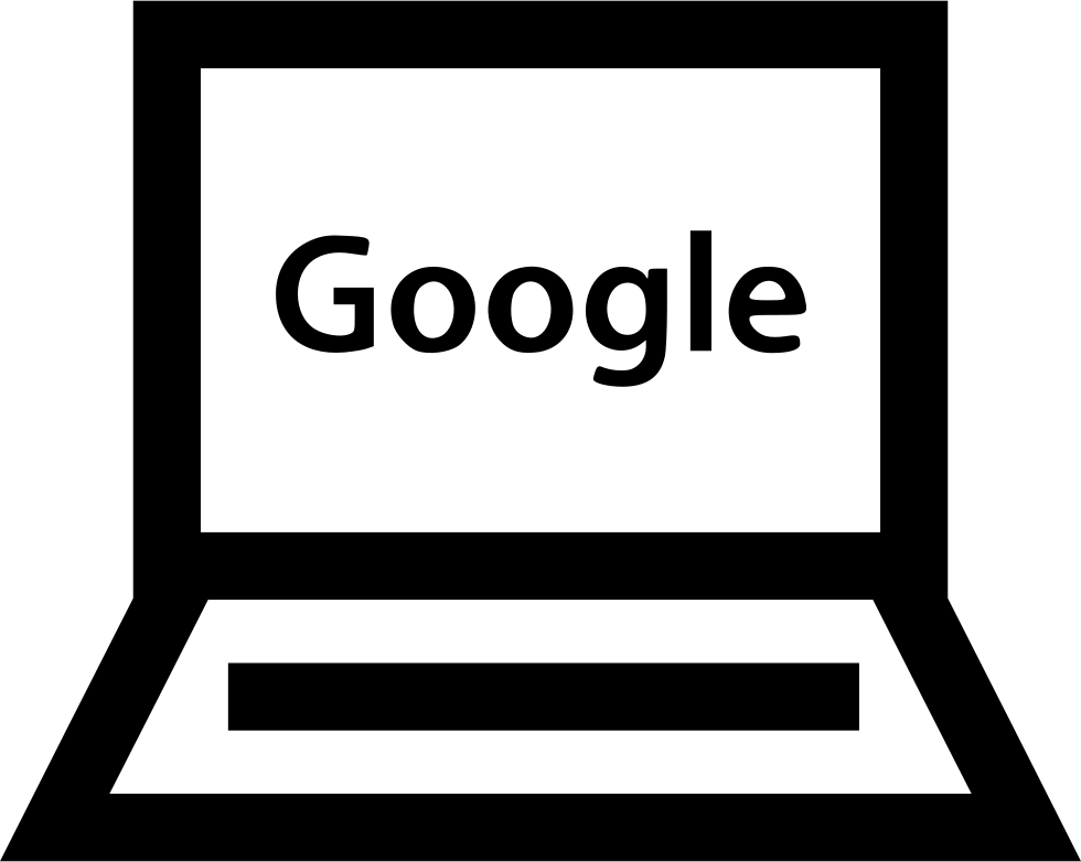 Download Laptop Google Search Homepage Page Results Pc Svg Png Icon ...