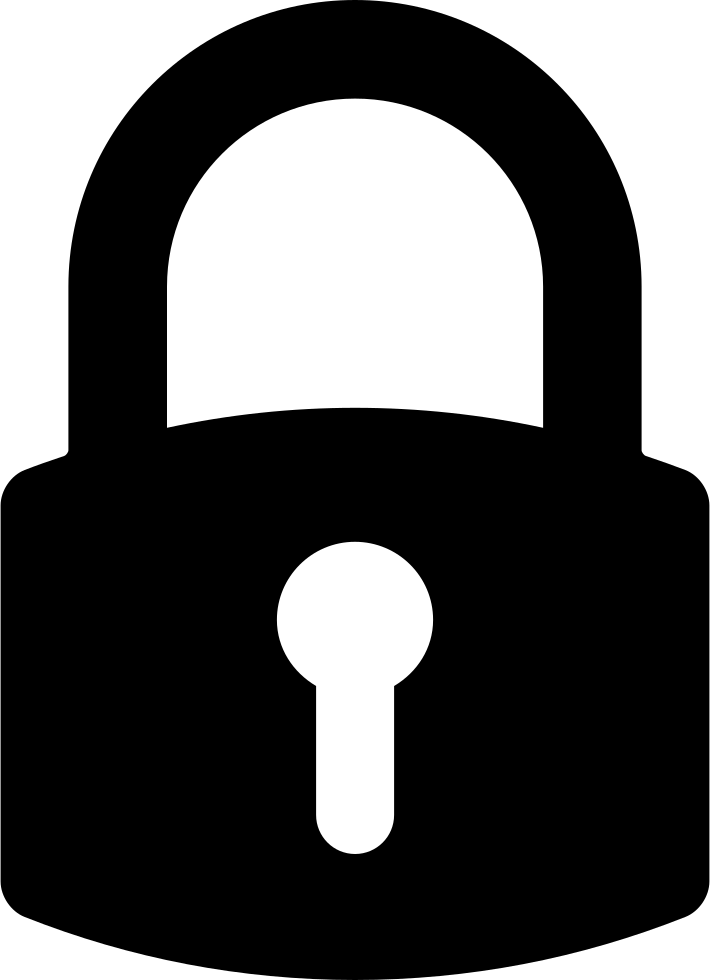 Lock Symbol For Interface Svg Png Icon Free Download