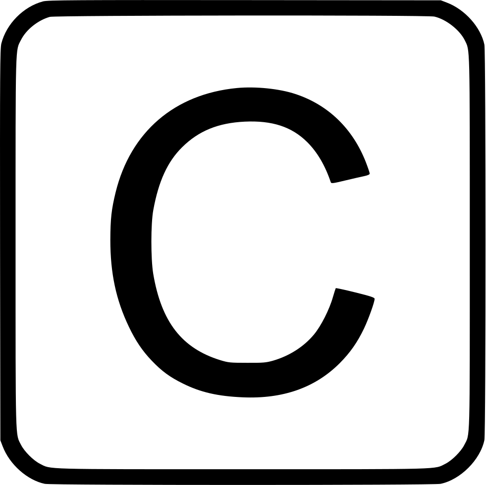 Alphabet Uppercase C Svg Png Icon Free Download (#527959) -  OnlineWebFonts.COM