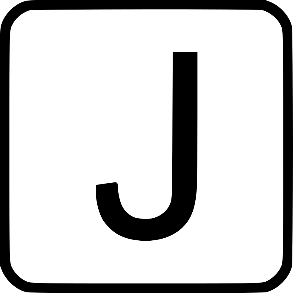 Alphabet Uppercase J Svg Png Icon Free Download (#527966 ...