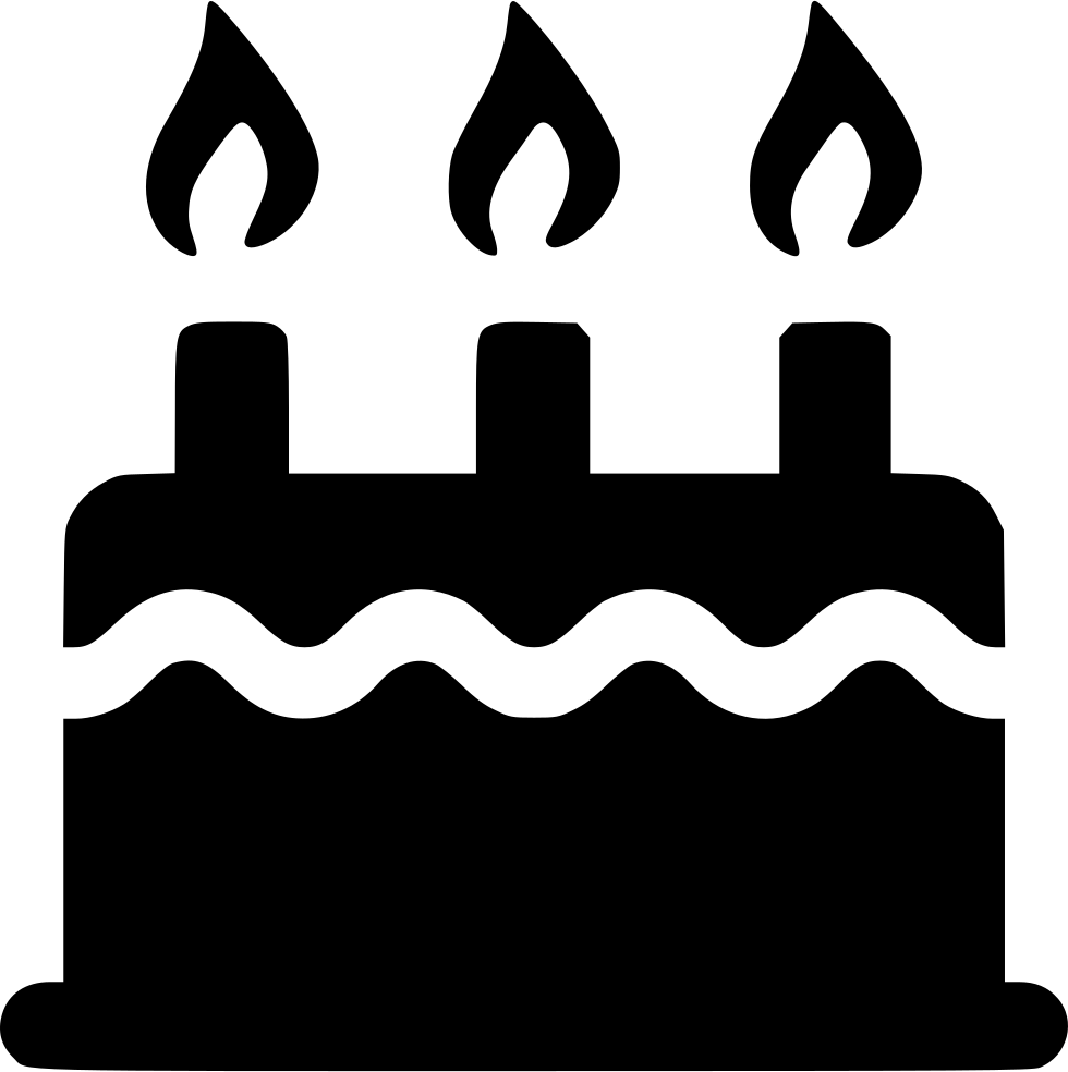 Birthday Cake Svg Png Icon Free Download 529672 Onlinewebfonts Com